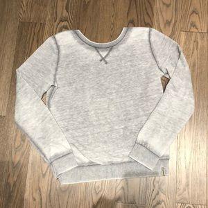 Oneill sweatshirt great cut out/open back